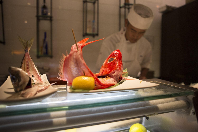 Fish Special Dish Sushi House Unico