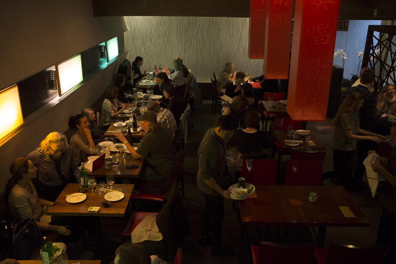 Sushi House Unico Serving Zone