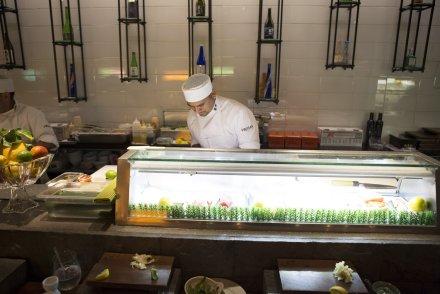 Sushi House Unico Staffs on Duty