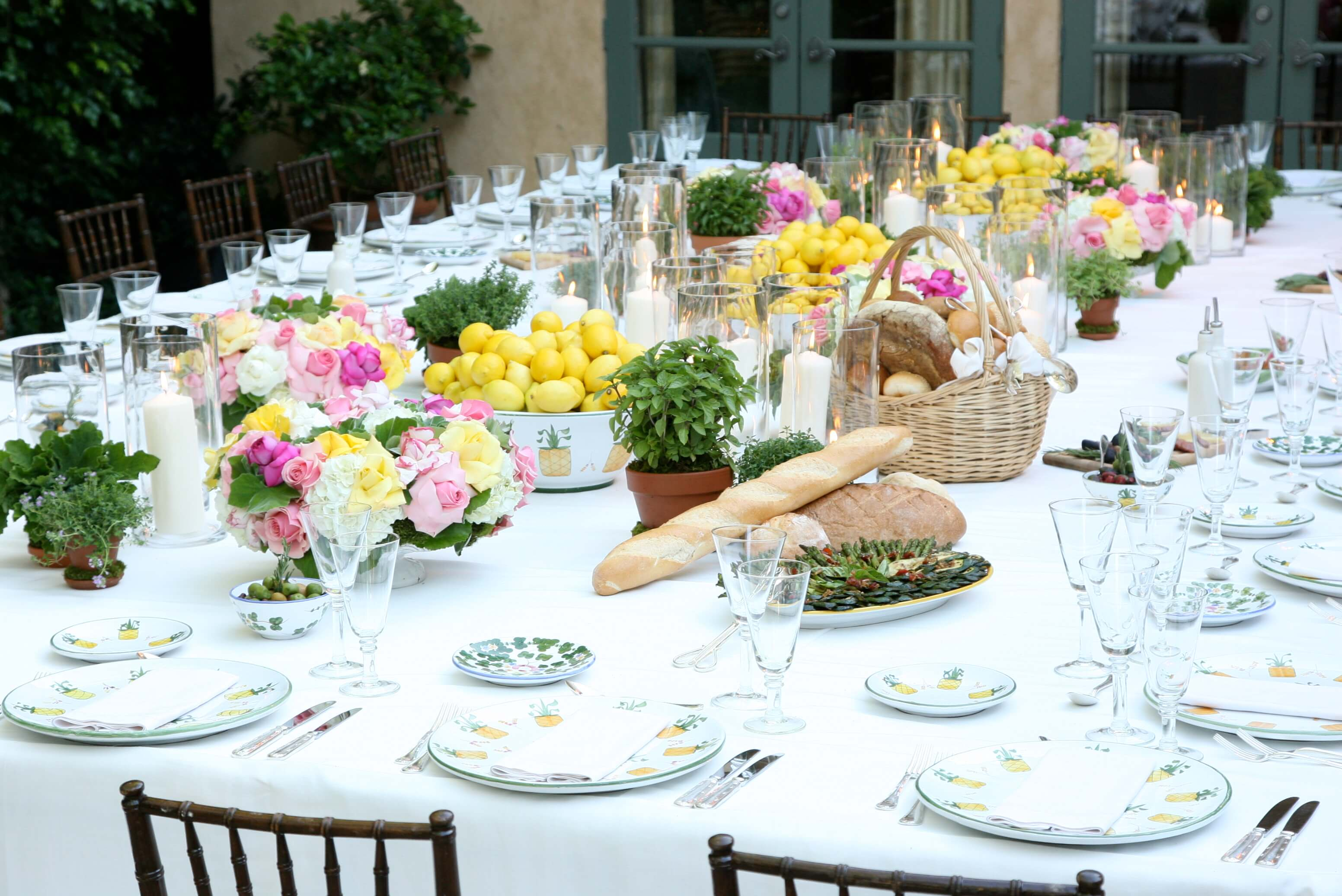 Catering Events - Table Arrangement-746956063
