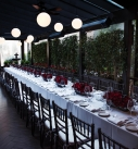 VIa Alloro - Private Dining Patio Roses